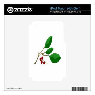 Cherry Laurel iPod Touch 4G Skin