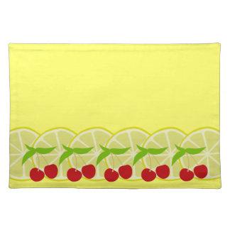 Cherry Lemonade Placemat Cloth Place Mat