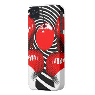Cherry Lips BlackBerry Bold Case-Mate Barely There iPhone 4 Cover