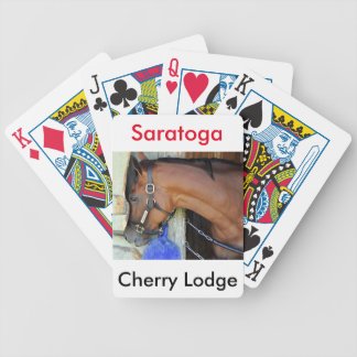 Cherry Lodge Bicycle Playing Cards