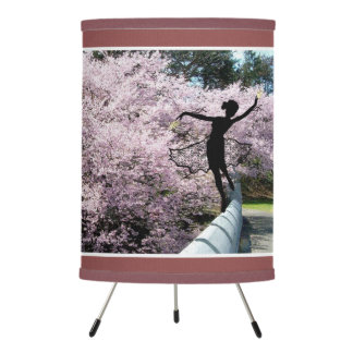 Cherry lossom Tree Spirit Tripod Lamp