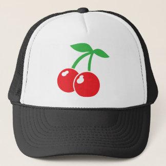 Cherry Love Hearts Trucker Hat