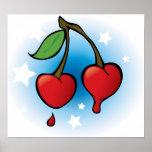 Cherry love Poster