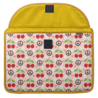 Cherry MacBook Pro 13 or 15 Inch Sleeve with Flap Sleeve For MacBooks