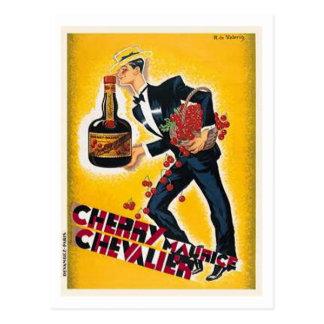 Cherry Maurice Chevalier Postcard