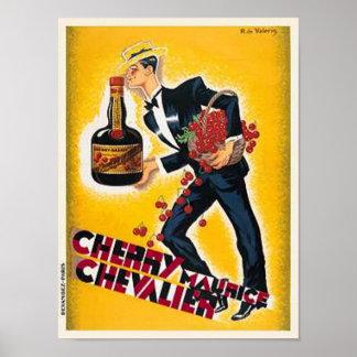 Cherry Maurice Chevalier Poster