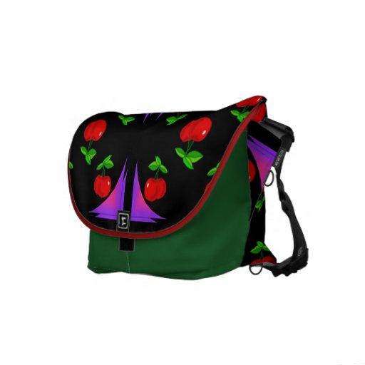 Cherry Messenger Baqg Messenger Bag