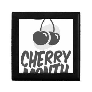 Cherry Month - Appreciation Day Jewelry Box