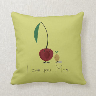 Cherry Mother's Day pillow