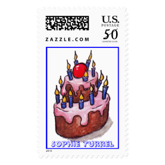 Cherry on the Cake! by Sophie Turrel Postage