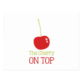 Cherry On Top Postcard