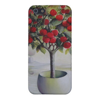 Cherry orchard iPhone Case