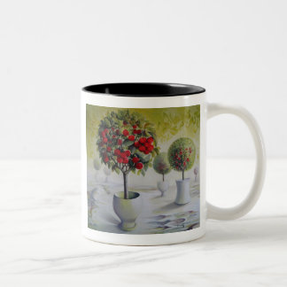 Cherry orchard mug