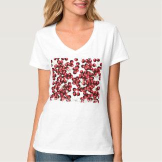 Cherry o's Women's Karen T-Shirt, White T Shirt