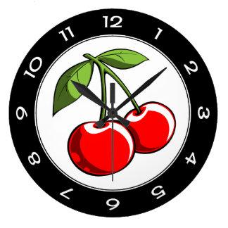 Cherry Pair Clock