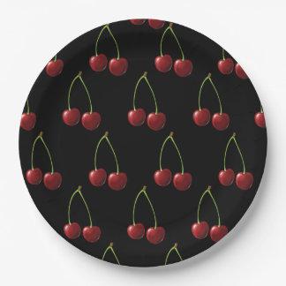 Cherry Paper Plate