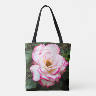 Cherry Parfait Rose All Over Print Tote Bag
