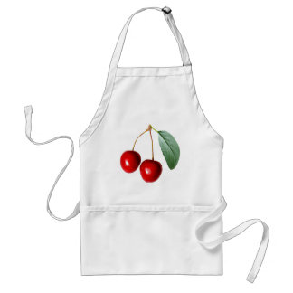Cherry Pattern Adult Apron