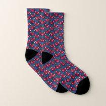 Cherry Pattern Socks