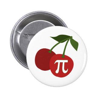 Cherry Pi Day Pinback Button