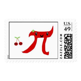 Cherry  Pi or Cherry Pie Stamp