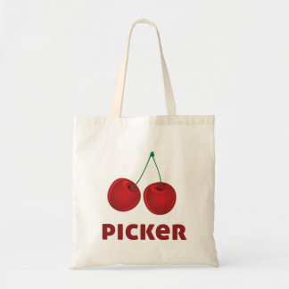 Cherry Picker Budget Tote Bag