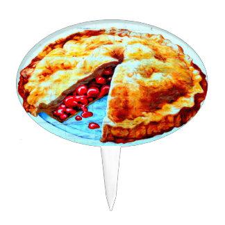 cherry pie cakepick