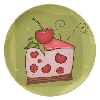 Cherry Pie Celebration Dinner Plate