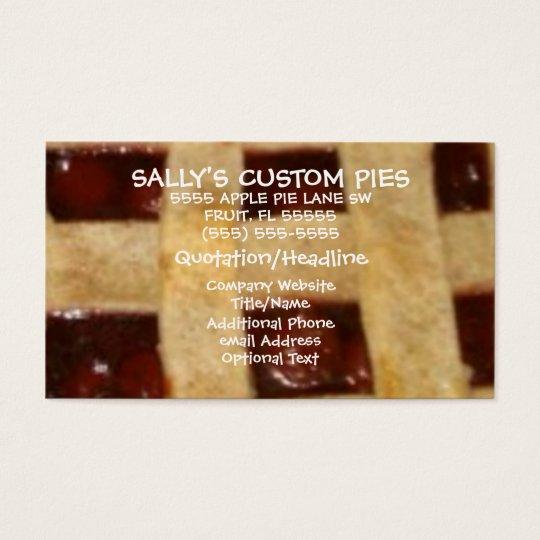 Cherry Pie Company Business Card