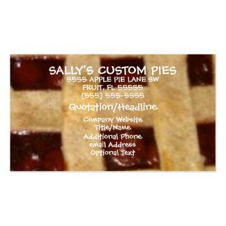 Cherry Pie Company Tarjetas De Visita