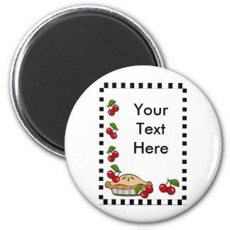 Cherry Pie Day February 20 Refrigerator Magnets