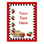 Cherry Pie Day February 20 Post Card