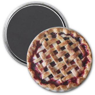 Cherry Pie Dessert Refrigerator Magnet