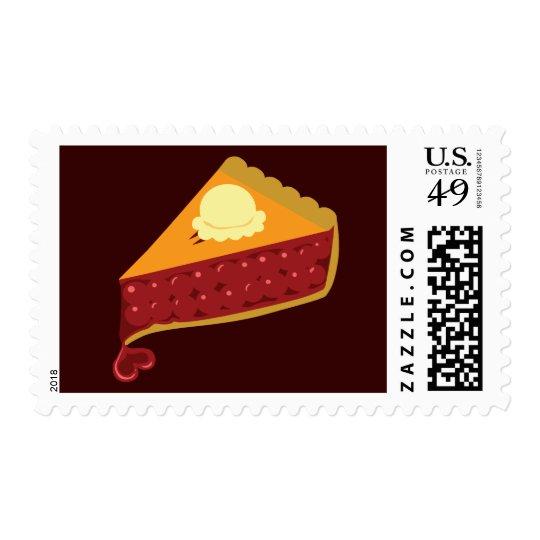 Cherry Pie Heart Postage