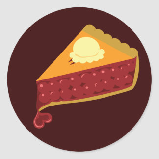 Cherry Pie Heart Sticker