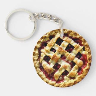 Cherry Pie Keychain