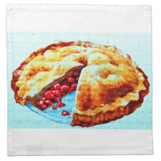 cherry pie napkins