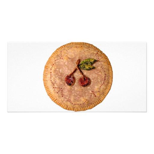 Cherry Pie Personalized Photo Card