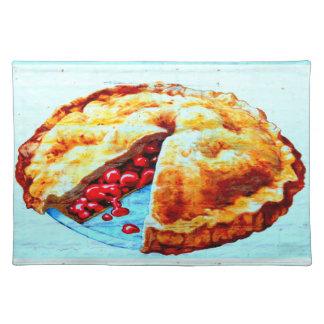 cherry pie placemat