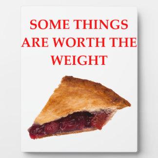 cherry pie plaque