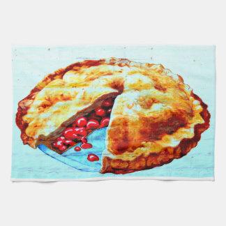 cherry pie towel