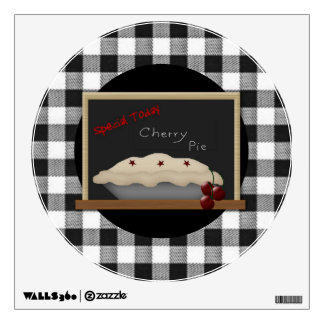 Cherry Pie Wall Decal
