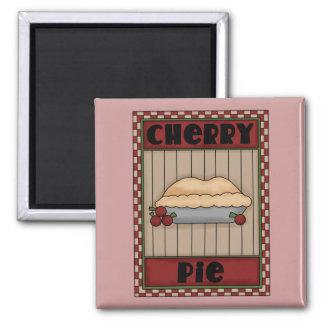 Cherry Pie WordArt Magnet