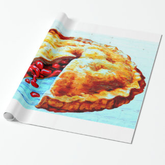 cherry pie wrapping paper