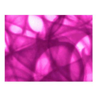 cherry_pink_batik_pattern postcard