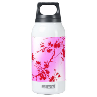 Cherry Pink Blossom Insulated Water Bottle