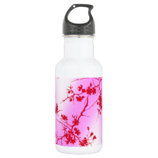 Cherry Pink Blossom Water Bottle