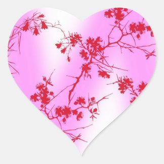 Cherry Pink Blossoms Sticker