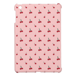 Cherry Pink Pattern Cover For The iPad Mini