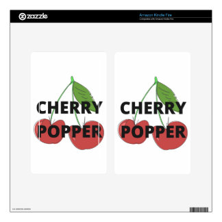 Cherry Popper Humor Design Illustration Collection Kindle Fire Skins